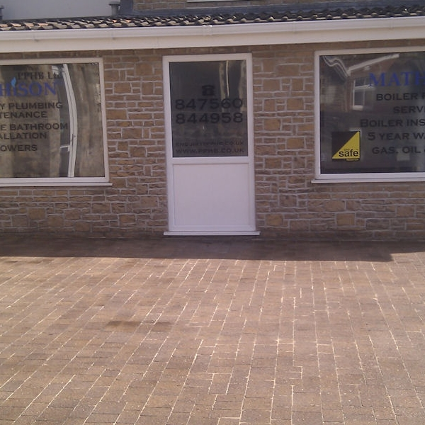 Block paving clean and seal