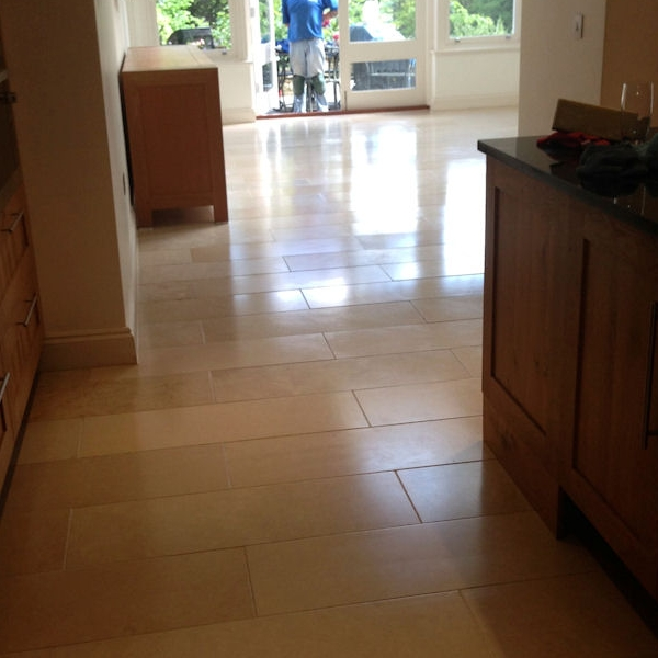 Limestone clean after