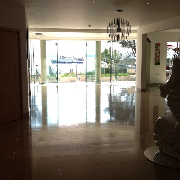 Polishing Limestone Floor